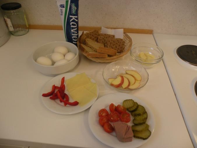 Fredagsfrukost på förskolan
