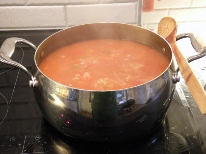 Rykande, het soppa