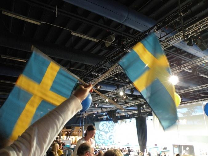 Heja Sverige! Heja Tommy!