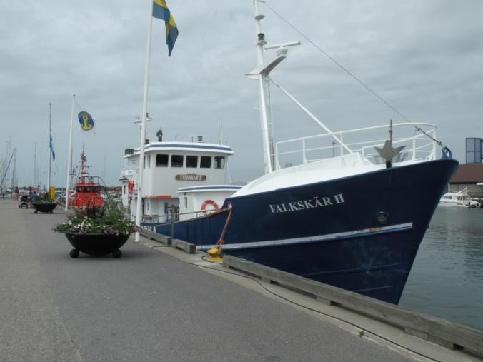 Hallandskustens största och snabbaste turfiskebåt FALKSKÄR (enligt Fladen Fishing hemsida)