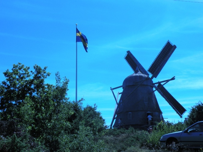 Den varsamt renoverade Kvarnen i Trönningenäs