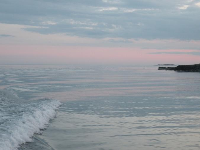 Hav och himmel går ihop