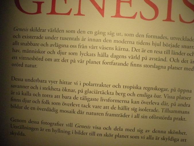 Presentation av Genesis