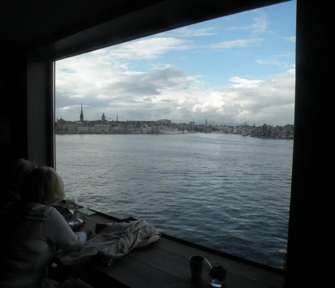 Utsikt från Fotografiskas restaurang