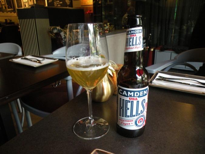 God öl som passade perfekt till förrätterna
