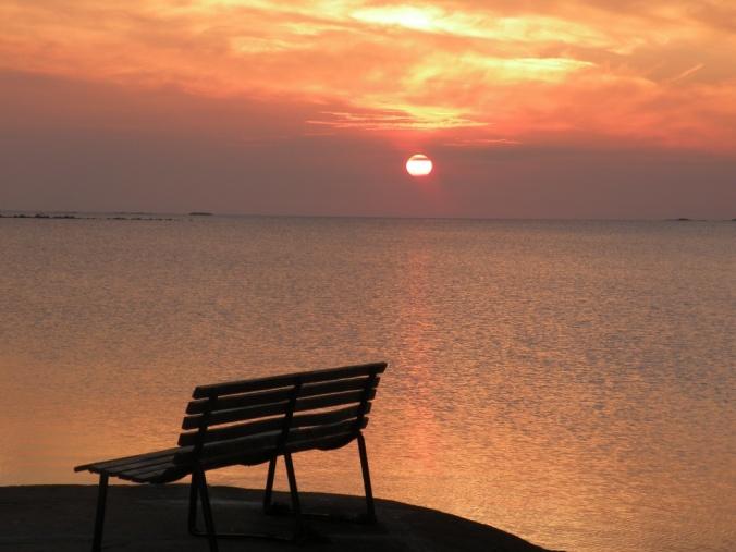 Solnedgång över Västerhavet