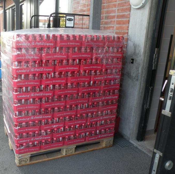 Coca Cola i parti och minut!