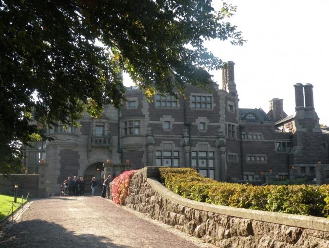 Fantastiska Tjolöholms slott i Tudorstil!