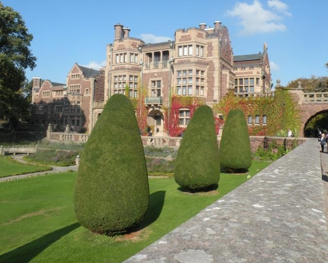 Slottet från väst