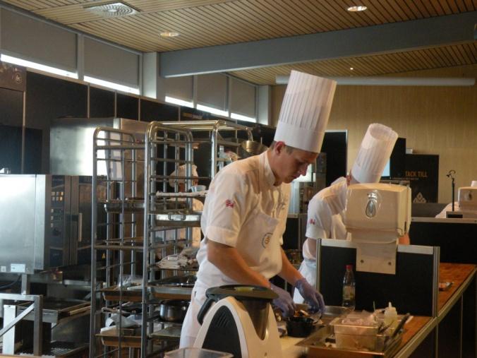 Thomas Sjögren från Swedish Taste in action