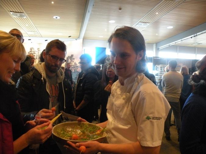 Filip Fastén bjuder på iskalla morötter