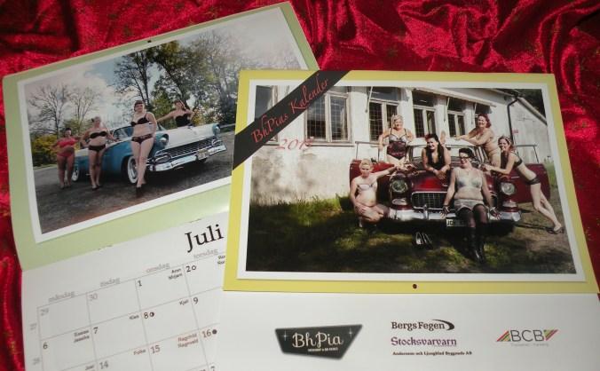 2 stycken av Bh-Pias kalendrar för 2015