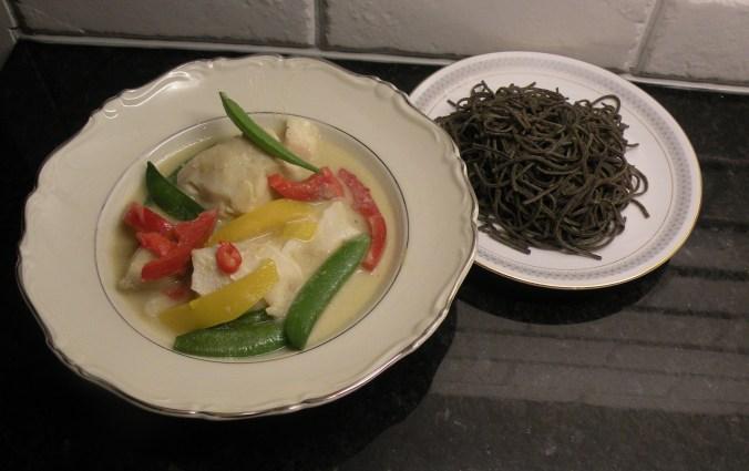 Thaiinspirerad torsk med svart bönpasta