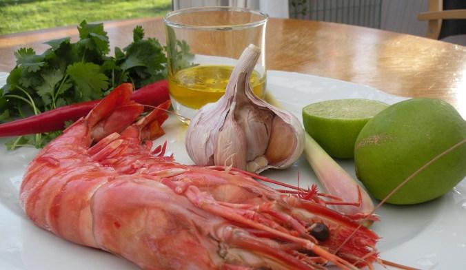 Ingredienser (jag använde inte citrongräset denna gången)