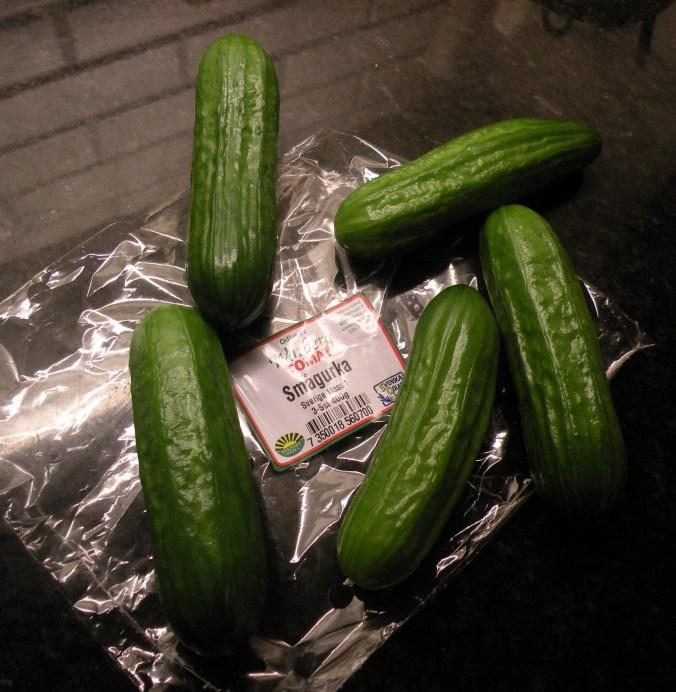 """Goda, smakrika och krispiga gurkor från """"Warberg Tomat"""""""