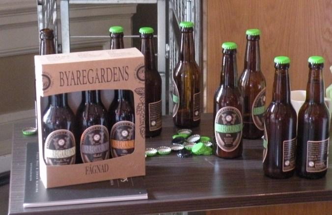 Goda ölsorter från Byaregården
