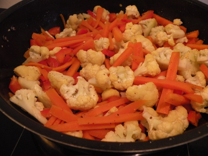 God grönsakswok!