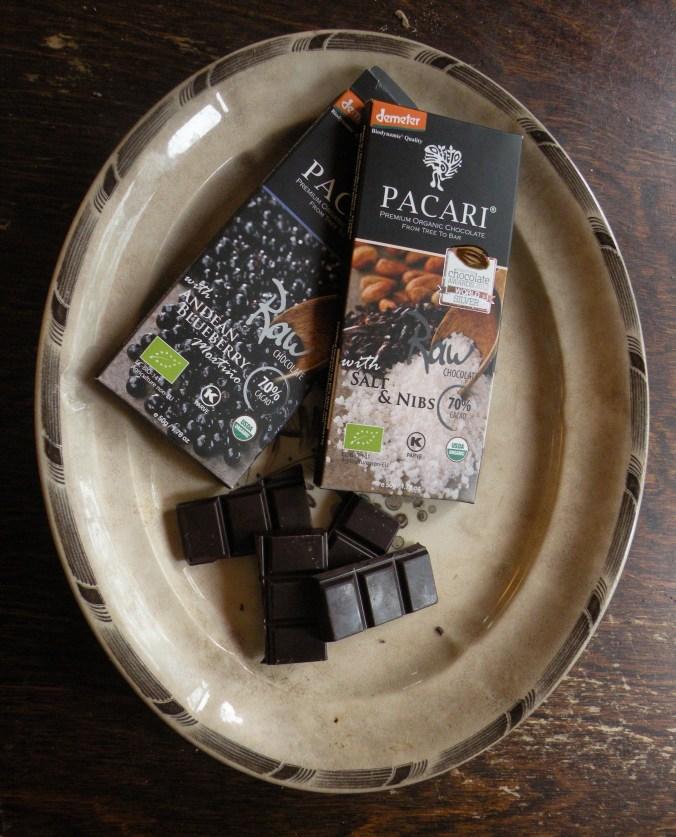 Rawchoklad är upphettad till högst 42 grader.