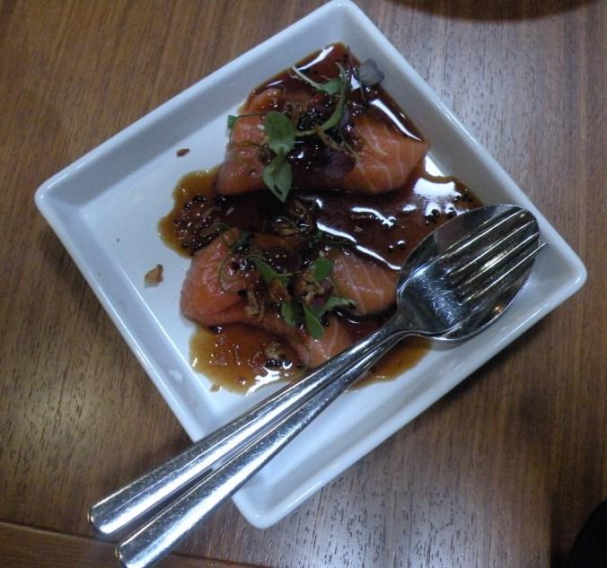 Sashimi på Vietnamesiskt vis.