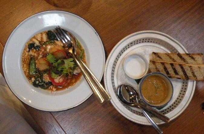 Thai Rotibröd och Southern Style Curry