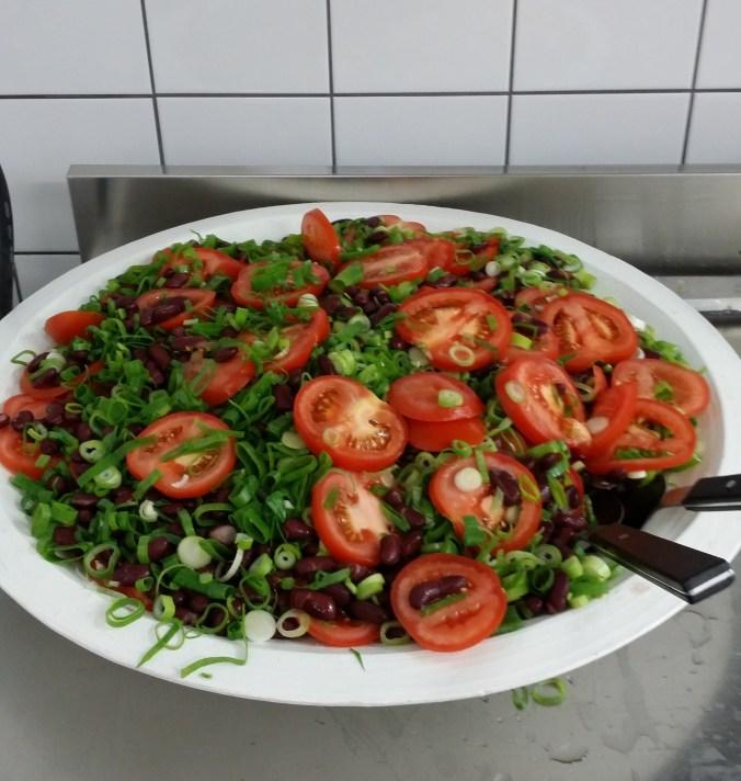 Läcker tomatsallad!