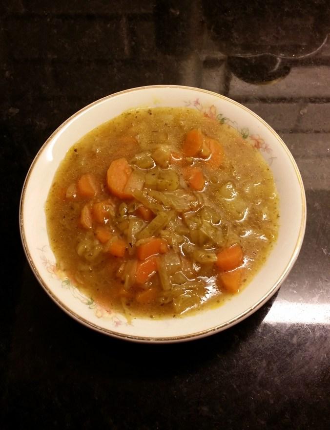 God, varm och mättande soppa!