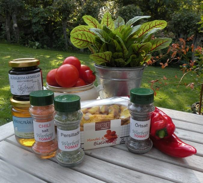 Härliga produkter från Warberg Tomat!