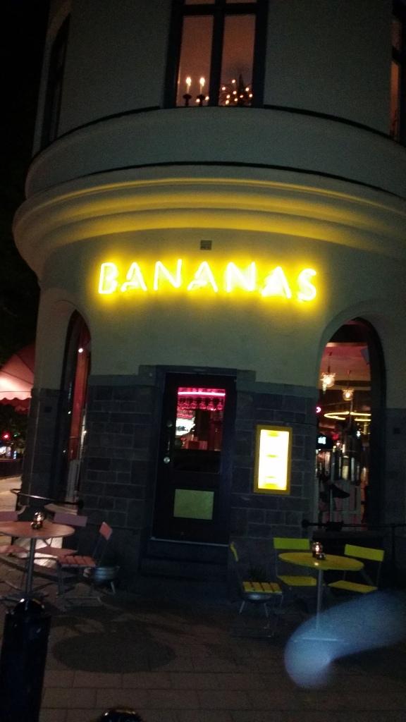 Bistro Bananas - god mat av fina råvaror.