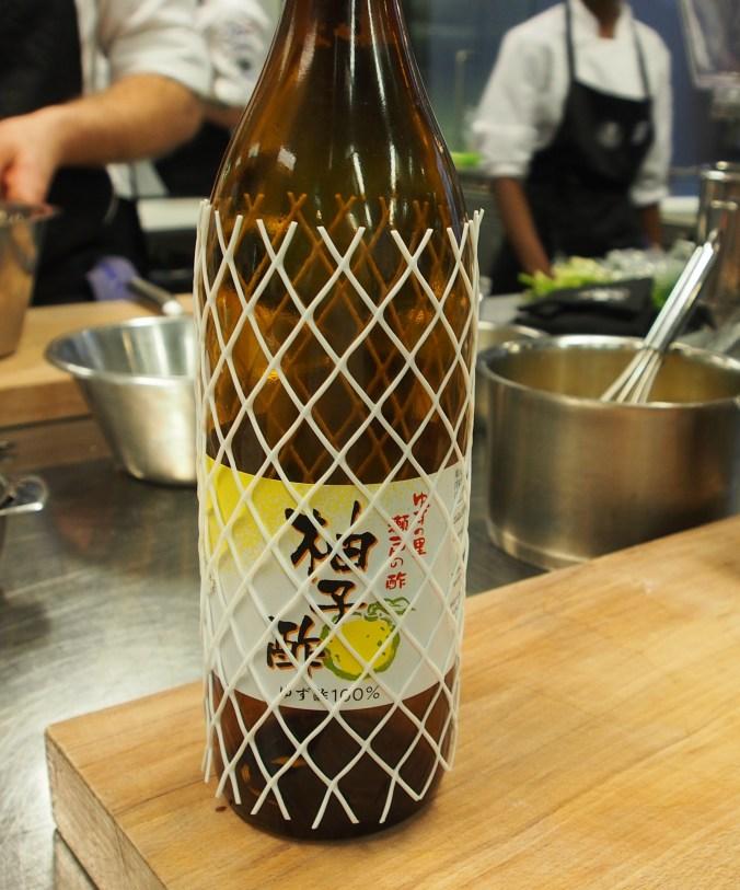 Yuzu - lite sur förvisso men aromatisk och god!