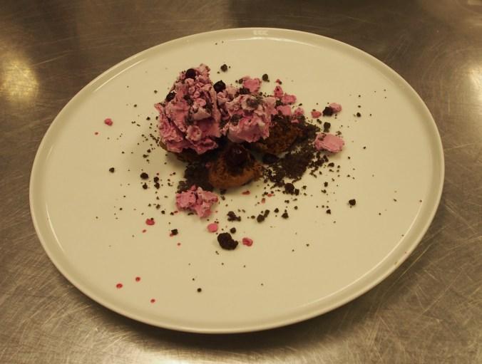 Rödbetsdessert med chili och choklad